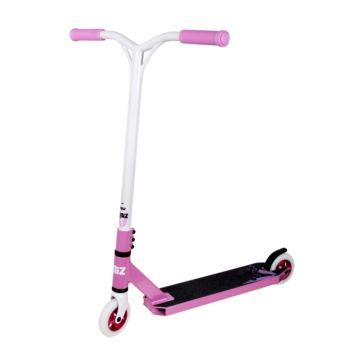 Трюковый самокат Blitz V3 (розовый/белый)