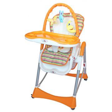Стульчик для кормления ForKiddy Optimum Toys (оранжевый)