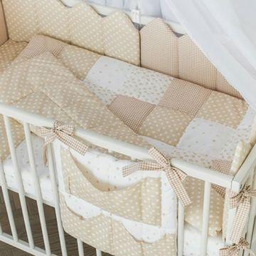 Комплект постельного белья Martoo Mosaik (7 предметов) персиковый
