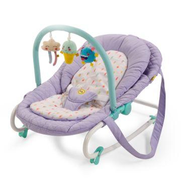 Шезлонг Happy Baby Nesty (фиолетовый)