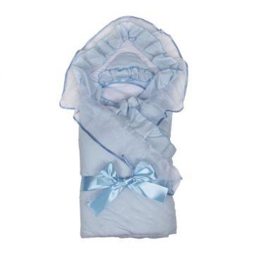Комплект на выписку демисезонный Alis Елена (6 предметов) (голубой)