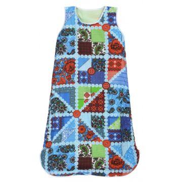 Спальный мешок для новорожденного Feter 100 см (разноцветные клетки)