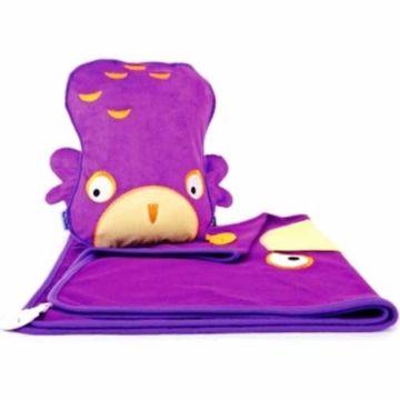 Подушка-плед Trunki SnooziHedz (Фиолетовый)