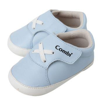 Пинетки Combi Baby Infant Shoe (голубые) 11