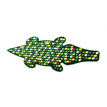Массажный коврик Onhillsport Крокодил 150х50 см