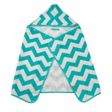 Полотенце Happy Baby Fluffy с капюшоном (Голубой)