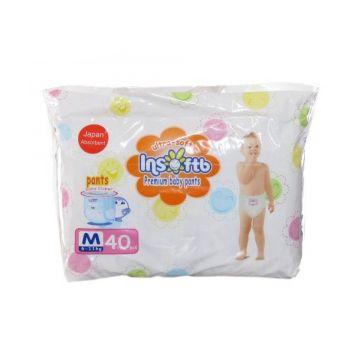 Трусики-подгузники Insoftb Premium Ultra-soft M (6-11 кг) 40 шт.