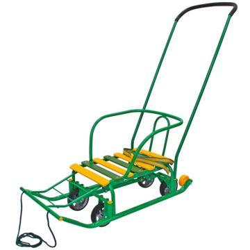 Санимобиль на колесах RT Kelkka Buran (зеленый)