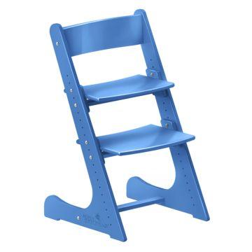 Растущий стул Конёк Горбунёк с лакокрасочным покрытием цветной (синий)