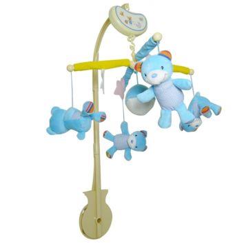 Музыкальный мобиль Biba Toys Мишки
