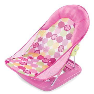 Детская горка для ванны Summer Infant Deluxe Baby Bather (Розовый)