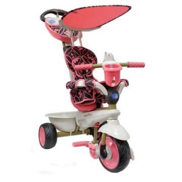 Трехколесный велосипед Smart Trike Dream Touch Steering (розовый)