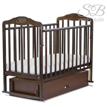 Кроватка детская Sweet Baby Gianni (поперечный маятник) Gianni Wenge