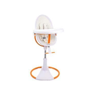 Стульчик Bloom Fresco Chrome Giro White Orange