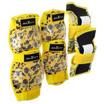 Комплект защиты MaxCity Fish S (желтый)