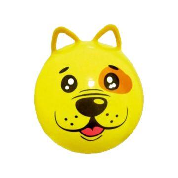 Гимнастический мяч Moby Kids Щенок с ушками (45 см) (Желтый)