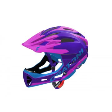 Шлем Cratoni C-Maniac Limited Edition S-M (purple-pink-blue)