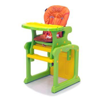 Стульчик для кормления Jetem Gracia Green/Orange