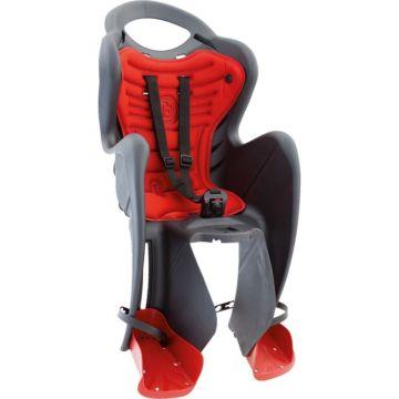Велокресло на багажник Bellelli Mr Fox Clamp до 22 кг (темно-серое)