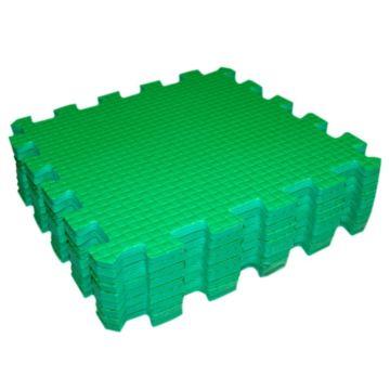 Мягкий пол Babypuzz 33*33 (зеленый)