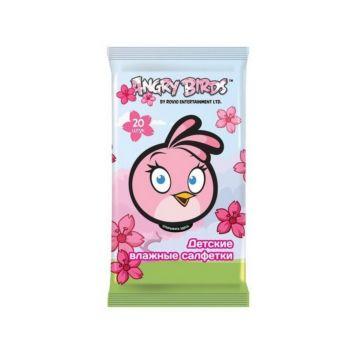 Влажные салфетки Angry Birds №20 (Девочка)