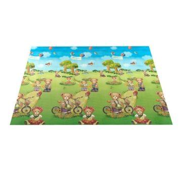 Развивающий коврик Yurim 140х63х0.5см (Мишки)