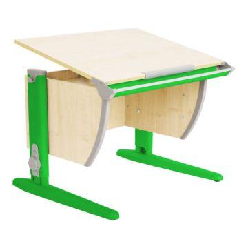 Растущая парта Дэми СУТ-14 с приставками (зеленый)