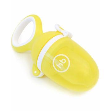 Ниблер Happy Baby Expert Nibbler Twist с силиконовой сеточкой (Желтый)