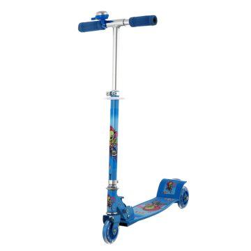 Самокат MaxCity Bell со светящимися колесами (blue)