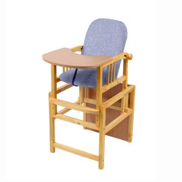 Стул-стол для кормления Мега Дом Слоник (фиолетовый)