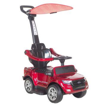 Каталка Ford Ranger с козырьком Покраска (красная)