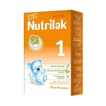 Сухая молочная смесь Nutrilak 1 (0-6 мес.) 350 г