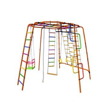 Детский спортивный комплекс Формула Здоровья Спутник-1Z Плюс (красный)