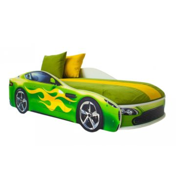 Кровать-машина Бельмарко Бондмобиль (зеленый)