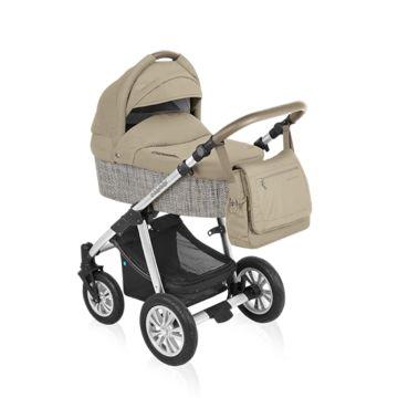 Коляска 2 в 1 Baby Design Dotty Eco (бежевый)