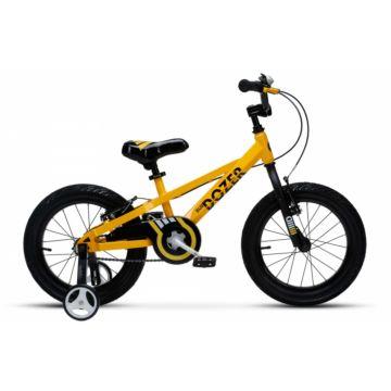 "Детский велосипед Royal Baby Bull Dozer 16"" (желтый)"