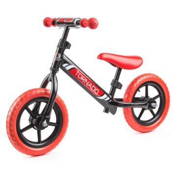 Беговел Small Rider Tornado (черно-красный)