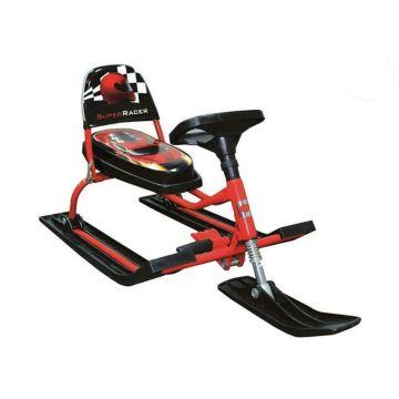 Снегокат Барс Comfort Auto 114 Racer (красный)