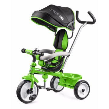 """Трехколесный велосипед Small Rider Cosmic Zoo Trike с колесами 10"""" и 8"""" (зеленый)"""