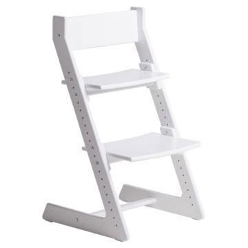 Растущий стул Кенгуру с лакокрасочным покрытием цветной (White)