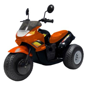 Электромотоцикл Autokinder Track Hero AK-2500 (черно-оранжевый)