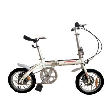 """Велосипед Nameless F014D 14"""" складной (белый)"""