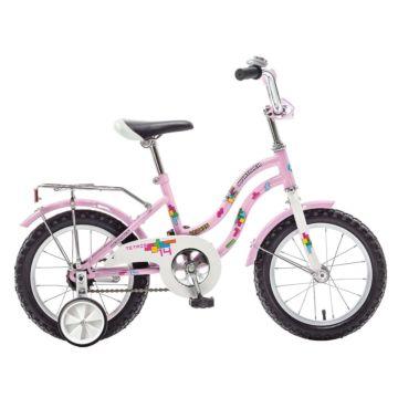 """Детский велосипед Novatrack Tetris 14"""" (2016) розовый"""