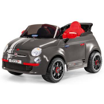 Электромобиль Peg Perego Fiat 500 (серый)