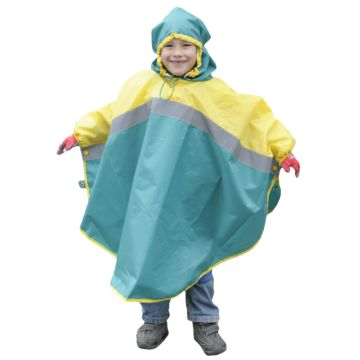 Дождевик детский Чудо-Чадо Светлячок (р.134-140) (Желто-зеленый)