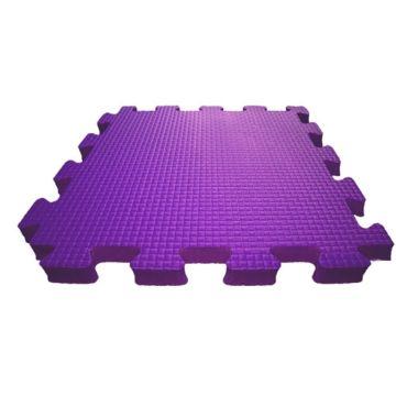Мягкий пол Babypuzz 50*50*2.5 (фиолетовый)