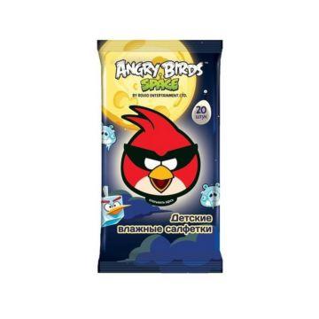 Влажные салфетки Angry Birds №20 (Мальчик)