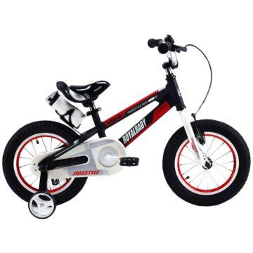 """Детский велосипед Royal Baby Freestyle Space №1 Alloy 16"""" (черный)"""
