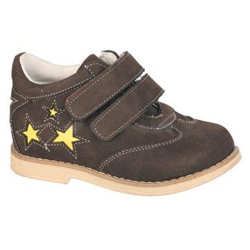 Ботинки ортопедические Twiki утепленные (темно-коричневые, 21-25)
