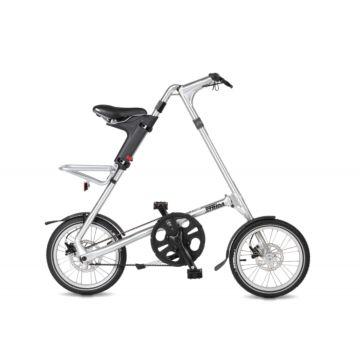 Велосипед складной Strida 5.2 (2017) серебристый